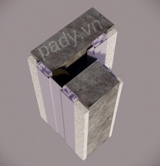 3. Chi tiết Khe co giãn Tường – Tường (Wall to Wall)