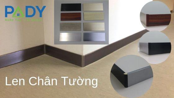Len Chân Tường_Skirting Board